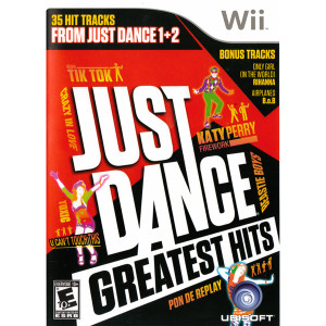 Just Dance Greatest Hits Wii Nintendo used video game for sale online.
