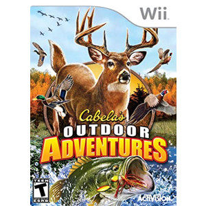 Cabela's Outdoor Adventures Wii Nintendo used video game for sale online.