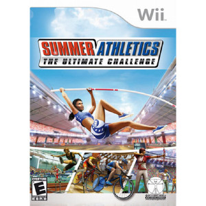 Summer Athletics Ultimate Challenge Wii Nintendo used video game for sale online.