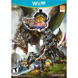 Monster Hunter 3 Ultimate Wii U Nintendo original video game game used for sale online.