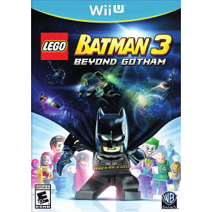 Lego Batman 3 Beyond Gotham Wii U Nintendo original video game game used for sale online.