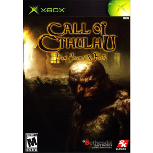 Call of Cthulhu Dark Corners of the Earth original Xbox game for sale online.