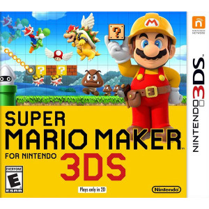 Super Mario Maker 3DS Used Nintendo Video Game For Sale Online.