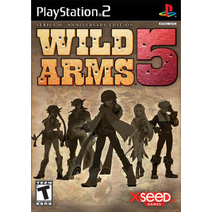 Wild Arms 5 10th Anniversary Edition Sony Playstation 2 PS2 used video game for sale online.