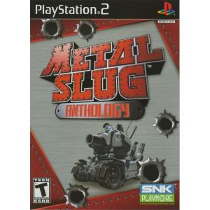 Metal Slug Anthology Sony Playstation 2 PS2 used video game for sale online.