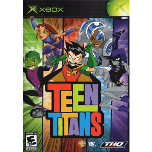 Teen Titans original Xbox used video game for sale online.