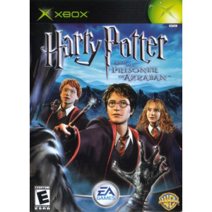 Harry Potter Prisoner of Azkaban original Xbox used video game for sale online.