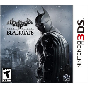 Batman Arkham Origins Blackgate Nintendo 3DS used video game for sale online.