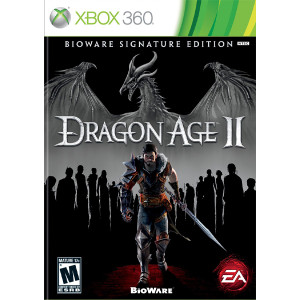 Dragon Age II Bioware Signature Edition Microsoft Xbox 360 used video game for sale online.