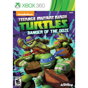 Teenage Mutant Ninja Turtles Danger of the Ooze Microsoft Xbox 360 used video game for sale online.