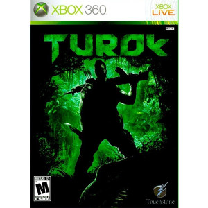 Turok Microsoft Xbox 360 used video game for sale online.