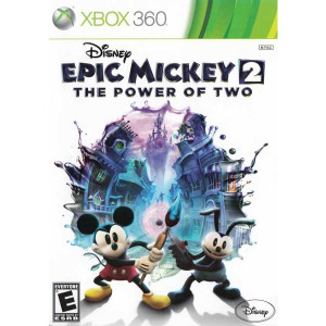 Epic Mickey 2 Power of Two Microsoft Xbox 360 used video game for sale online.