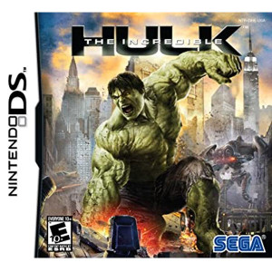 Incredible Hulk Nintendo DS Used Video Game For Sale Online.