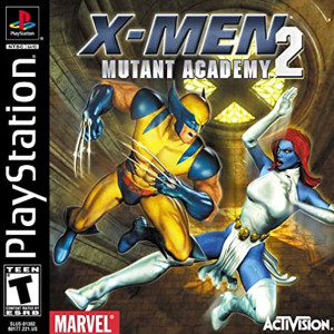X-Men Mutant Academy Playstation PS1 used video game for sale online.