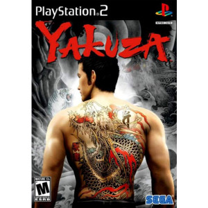 Yakuza Sony Playstation 2 PS2 used video game for sale online.