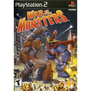 War of the Monsters Sony Playstation 2 PS2 used video game for sale online.