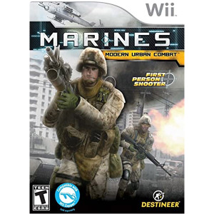 Marines Modern Urban Combat Wii Nintendo Used Video Game For Sale Online.