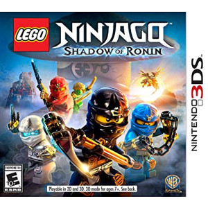 Lego Ninjago Shadow of Ronin Nintendo 3DS used video game for sale.