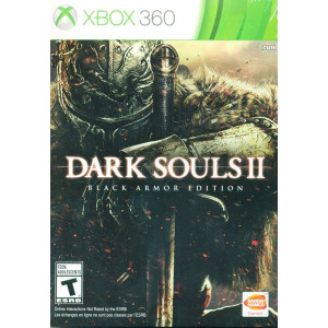 Dark Souls II Black Armor Edition Microsoft Xbox 360 used video game for sale online.