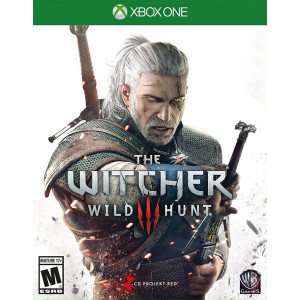 Witcher 3 Wild Hunt Microsoft Xbox One used video game for sale online.