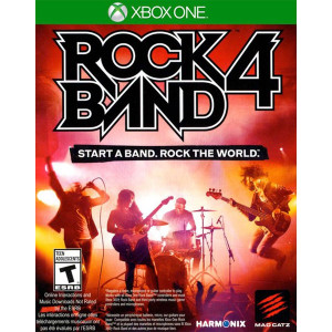 Rock Band 4 Microsoft Xbox One used video game for sale online.