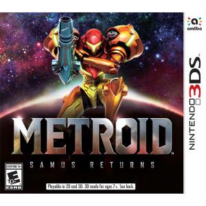 Metroid Samus Returns 3DS Nintendo used video game for sale online.