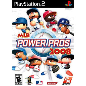 MLB Power Pros 2008 Playstation 2 PS2 used video game for sale online.