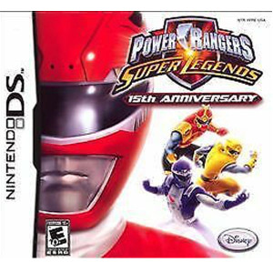 Power Rangers Super Legends 15th Anniversary Nintendo DS Used Video Game For Sale Online.