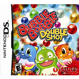 Bubble Bobble Double Shot Nintendo DS Used Video Game For Sale Online.