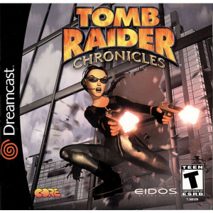 Tomb Raider Chronicles Sega Dreamcast used video game for sale online.