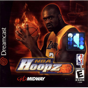 NBA Hoopz Sega Dreamcast used video game for sale online.