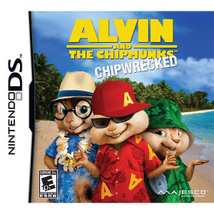 Alvin and the Chipmunks Chipwrecked Nintendo DS Used Video Game For Sale Online.
