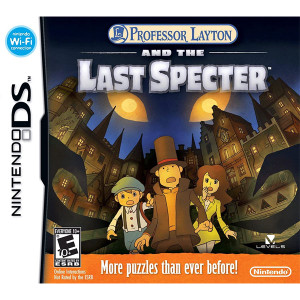 Professor Layton and the Last Specter Nintendo DS Used Video Game For Sale Online.