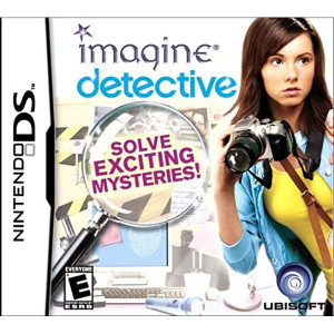Imagine Detective Nintendo DS Used Video Game For Sale Online.