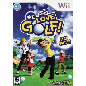We Love Golf Wii Nintendo used video game for sale online.