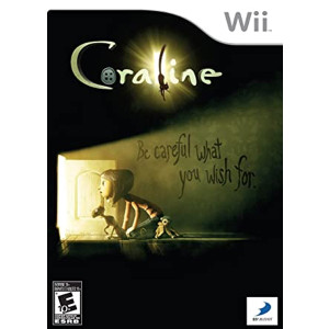 Coraline Wii Nintendo used video game for sale online.