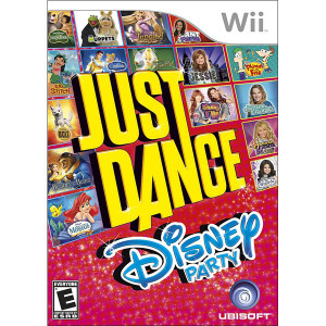 Just Dance Disney Party Wii Nintendo used video game for sale online.