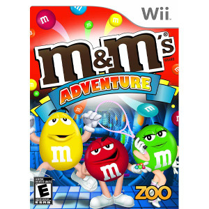 M&M's Adventure Wii Nintendo used video game for sale online.