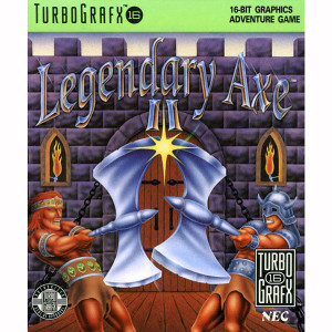 Legendary Axe II NEC Home Electronics Turbo Grafx 16 Video Game For Sale | DKOldies