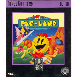 Pac-Land NEC Home Electronics Turbo Grafx 16 Video Game For Sale | DKOldies