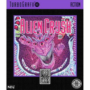 Alien Crush NEC Home Electronics Turbo Grafx 16 Video Game For Sale | DKOldies
