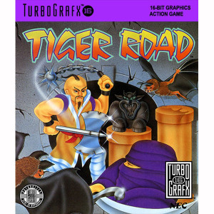 Tiger Road NEC Home Electronics Turbo Grafx 16 Video Game For Sale | DKOldies