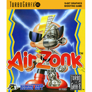 Air Zonk NEC Home Electronics Turbo Grafx 16 Video Game For Sale | DKOldies