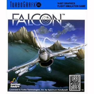 Falcon NEC Home Electronics Turbo Grafx 16 Video Game For Sale | DKOldies