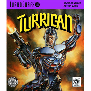 Turrican NEC Home Electronics Turbo Grafx 16 Video Game For Sale | DKOldies