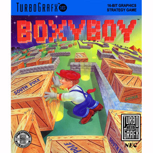 BoxyBoy NEC Home Electronics Turbo Grafx 16 Video Game For Sale   DKOldies