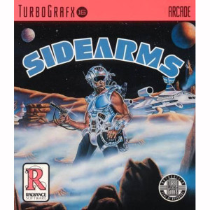 Sidearms Home Electronics Turbo Grafx 16 Video Game For Sale | DKOldies