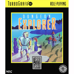 Dungeon Explorer NEC Home Electronics Turbo Grafx 16 Video Game For Sale | DKOldies