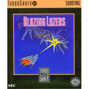Blazing Lazers NEC Home Electronics Turbo Grafx 16 Video Game For Sale | DKOldies