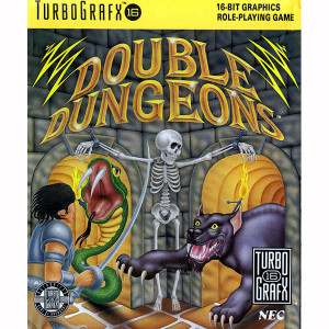 Double Dungeons NEC Home Electronics Turbo Grafx 16 Video Game For Sale | DKOldies